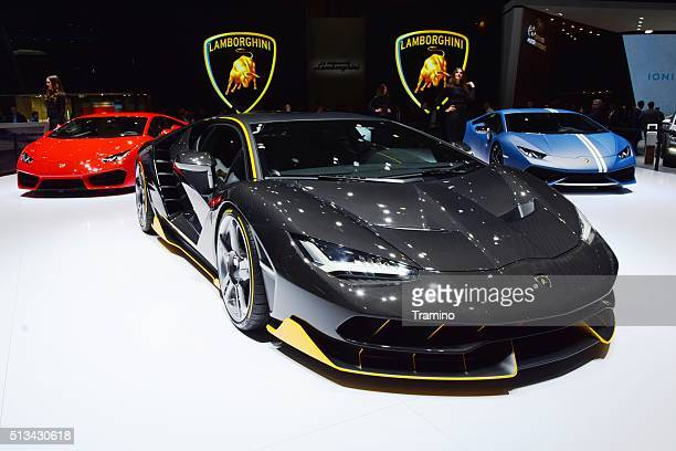Lamborghini Centenario on the motor show