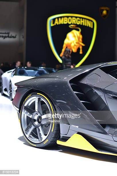 Centenario della Lamborghini il motore Visualizza