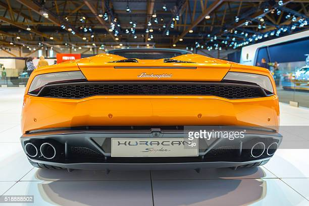 Lamborghini Huracan LP 610-4 Spyder sports car
