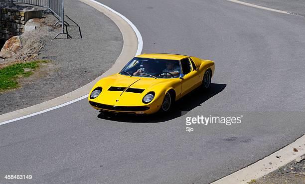 Lamborghini Miura S classic Italian sports car