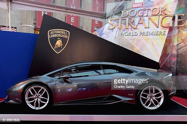 Lamborghini Stars at Marvel Studios' Doctor Strange in US theaters Nov 4 at El Capitan Theatre on October 20 2016