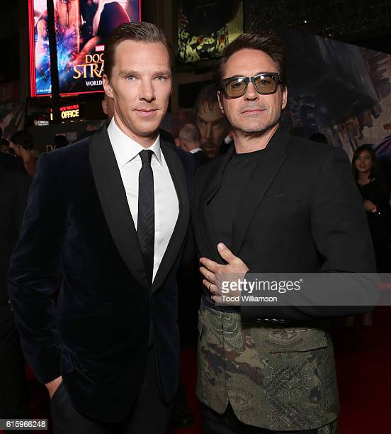 Lamborghini Stars on red carpet with actors Benedict Cumberbatch and Robert Downey Jr at Marvel Studios' Doctor Strange in US theaters Nov 4 at El...