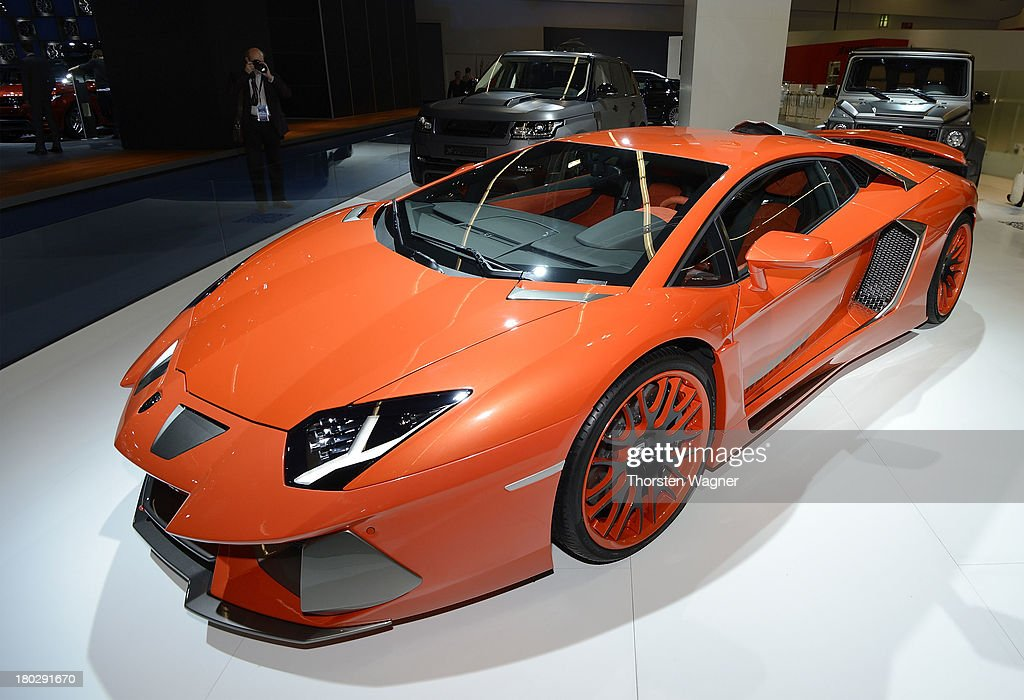 Lamborghini tuned by Hamann during the press day at the international motor show IAA on September 11 2013 in Frankfurt am Main Germany The world's...