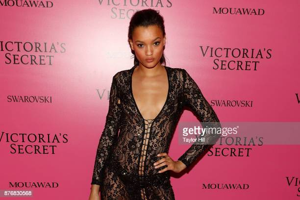 Lameka Fox attends the 2017 Victoria's Secret Fashion Show After Party on November 20 2017 in Shanghai China