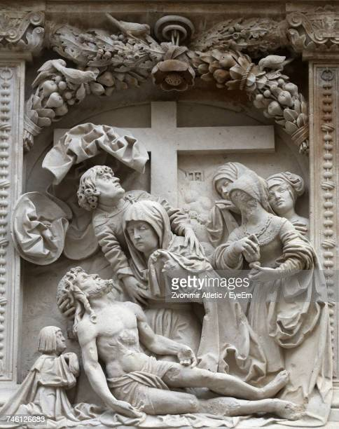 Lamentation Of Christ Sculpture At St Stephens Cathedral