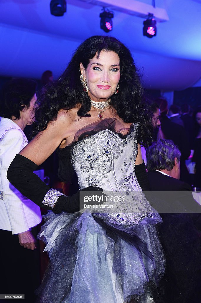 Lamia Khashoggi attends the Eva Longoria Global Gift Gala after party hosted by Nikki Beach Cannes during The 66th Annual Cannes Film Festival on May 19, 2013 in Cannes, France.