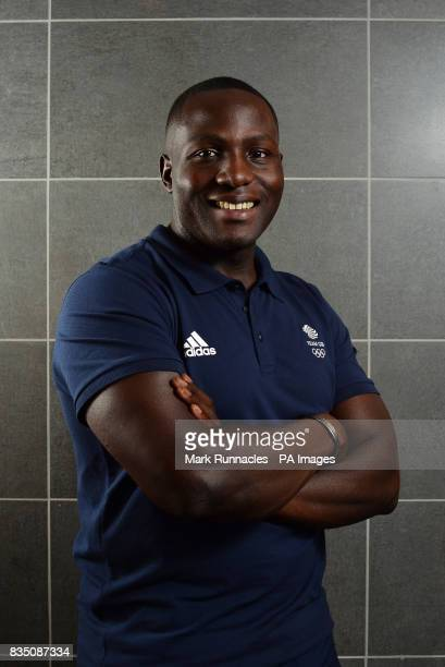 Lamin Deen during the PyeongChang 2018 Olympic Winter Games photocall at Heriot Watt University Oriam PRESS ASSOCIATION Photo Picture date Friday...