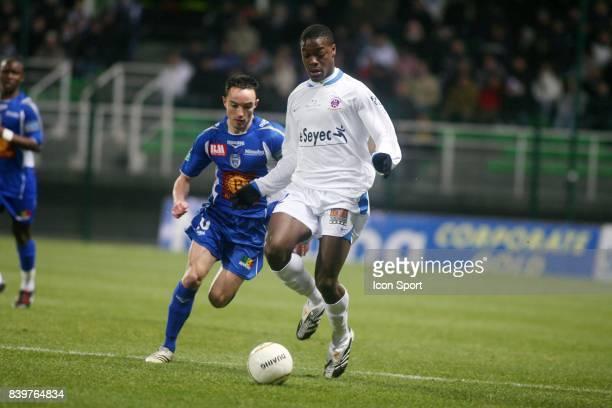 Lamine KONE Troyes / Chateauroux 24 eme journee de Ligue 2
