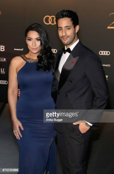 Lamiya Slimani and Sami Slimani attend the 24th Opera Gala at Deutsche Oper Berlin on November 4 2017 in Berlin Germany