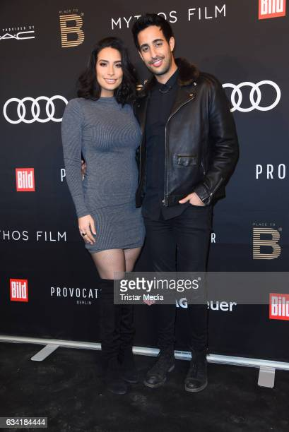 Lamiya Slimani and Sami Slimani attend the PLACE TO B PreBerlinale Dinner at Provocateur on February 7 2017 in Berlin Germany