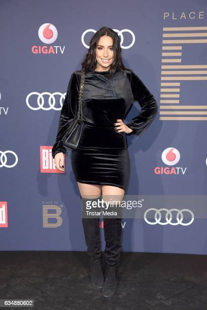 Lamiya Slimani attends the PLACE TO B Party at Borchardt on February 11 2017 in Berlin Germany
