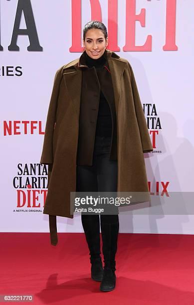 Lamiya Slimani attends the 'Santa Clarita Diet' special screening at CineStar on January 20 2017 in Berlin Germany