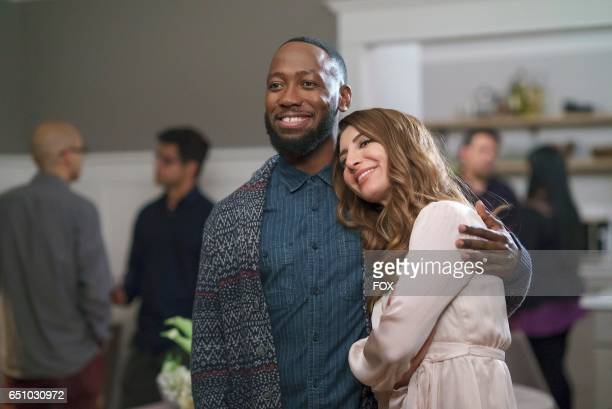 Lamorne Morris and guest star Nasim Pedrad in the 'Hike' episode of NEW GIRL airing Tuesday Jan 24 on FOX