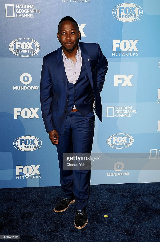 Lamorne Morris attends 2015 FOX Programming Presentation at Wollman Rink Central Park on May 11 2015 in New York City