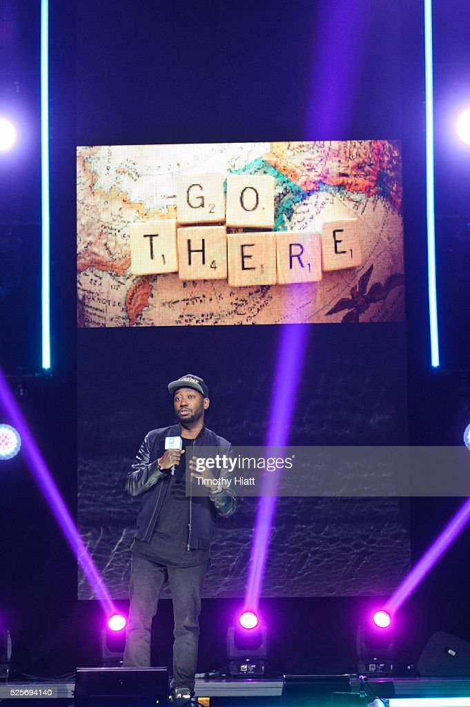 Lamorne Morris attends at WeDay in Illinois at Allstate Arena on April 28, 2016 in Chicago, Illinois.