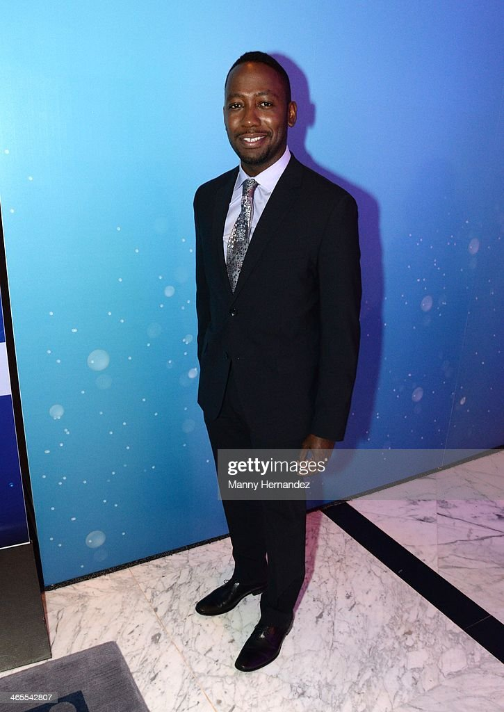 <a gi-track='captionPersonalityLinkClicked' href=/galleries/search?phrase=Lamorne+Morris&family=editorial&specificpeople=671004 ng-click='$event.stopPropagation()'>Lamorne Morris</a> is sighted at NATPE 2014 in Miami Beach at Fontainebleau Miami Beach on January 27, 2014 in Miami Beach, Florida.