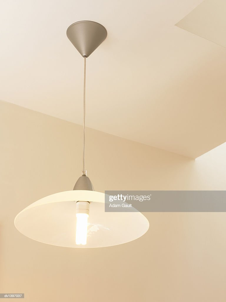 Lamp Hanging From a Ceiling