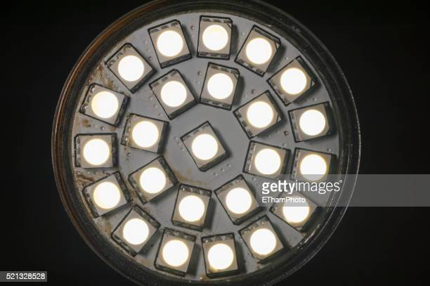 LED lamp in surface-mount technology (SMD LED module)