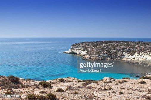 Lampedusa beach