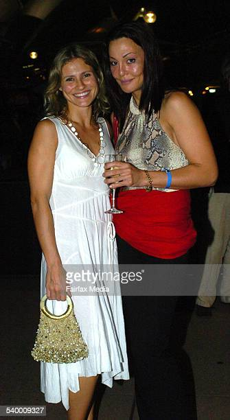 Lana Antonova and Albina Bruna at the World's Fastest Indian Premiere at the Dendy Opera Quays Circular Quay Sydney 16 March 2006 SHD Picture by...