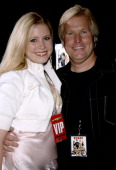 Lana Austin and Steve Austin producer during 'Supercross' Los Angeles Premiere Red Carpet at Veterans Administration Complex in Westwood California...