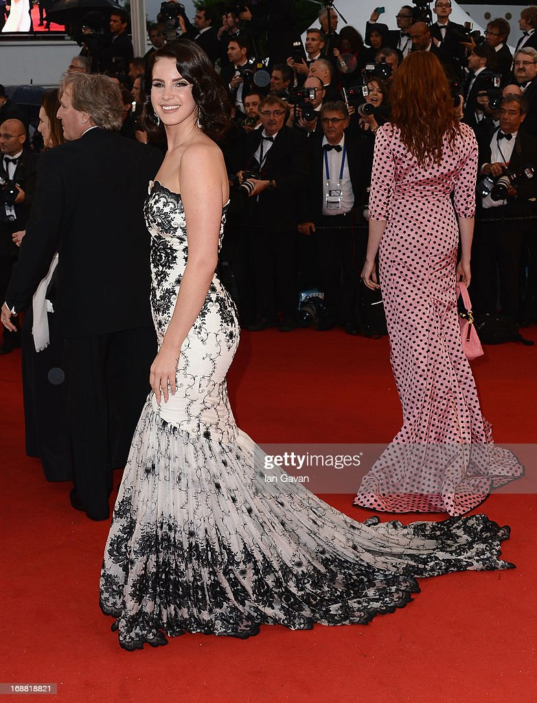 Lana Del Rey attends Electrolux at Opening Night of The 66th Annual Cannes Film Festival at the Theatre Lumiere on May 15, 2013 in Cannes, France.