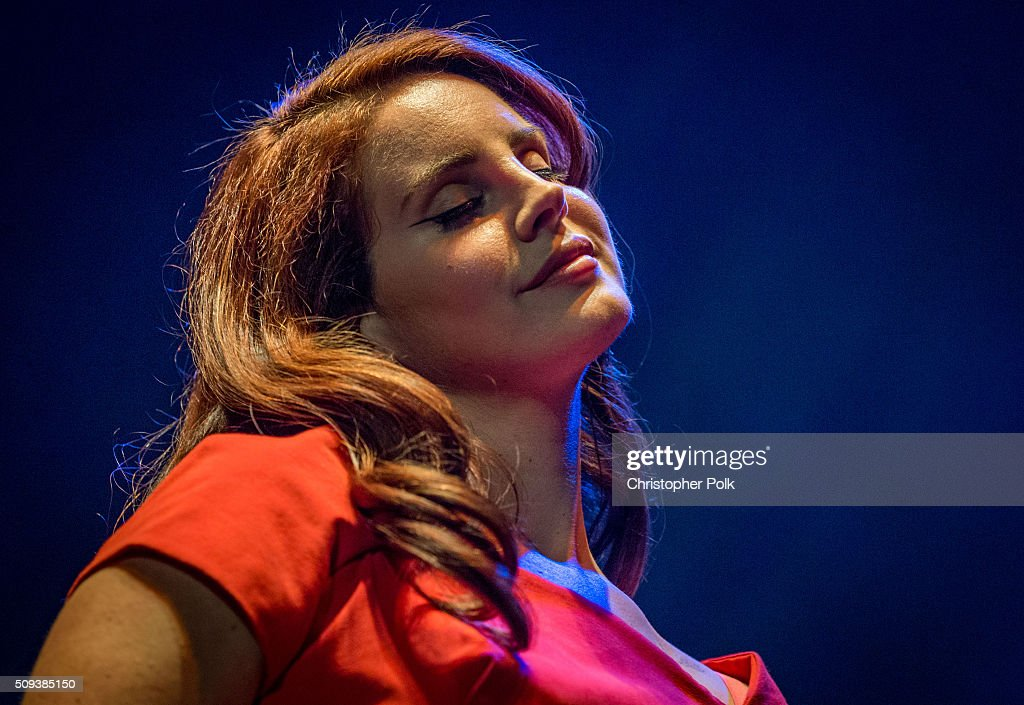 <a gi-track='captionPersonalityLinkClicked' href=/galleries/search?phrase=Lana+Del+Rey&family=editorial&specificpeople=8565478 ng-click='$event.stopPropagation()'>Lana Del Rey</a> attends her 'Freak' music video premiere event presented by Vevo at The Wiltern on February 9, 2016 in Los Angeles, California.