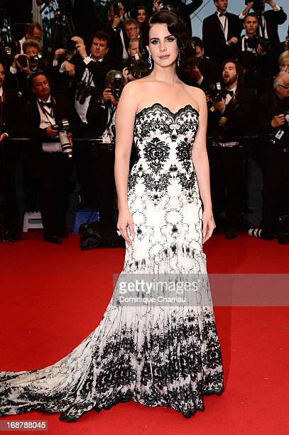 Lana Del Rey attends the Opening Ceremony and premiere of 'The Great Gatsby' during the 66th Annual Cannes Film Festival at Palais des Festivals on...