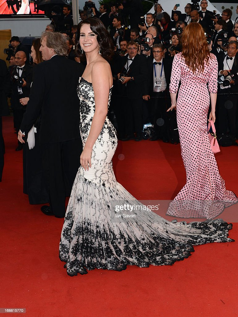 Lana Del Rey attends the Opening Ceremony and 'The Great Gatsby' Premiere during the 66th Annual Cannes Film Festival at the Theatre Lumiere on May 15, 2013 in Cannes, France.