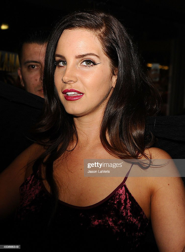Lana Del Rey attends the premiere of 'Tropico' at ArcLight Cinemas Cinerama Dome on December 4, 2013 in Hollywood, California.