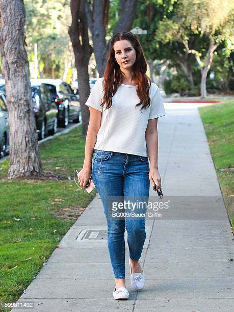 Lana Del Rey is seen on September 06 2016 in Los Angeles California