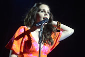 Lana Del Rey performs as part of the Coachella Valley Music and Arts Festival at The Empire Polo Club on April 13 2014 in Indio California