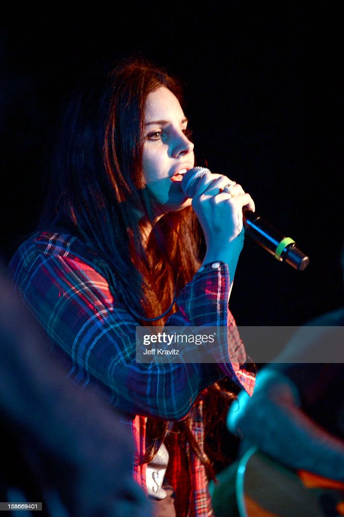 <a gi-track='captionPersonalityLinkClicked' href=/galleries/search?phrase=Lana+Del+Rey&family=editorial&specificpeople=8565478 ng-click='$event.stopPropagation()'>Lana Del Rey</a> performs at Camp Freddy Holiday Residency at The Roxy Theatre on December 22, 2012 in West Hollywood, California.
