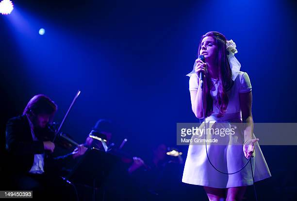 Lana Del Rey performs at Day 2 of the 2012 Splendour In The Grass Festival on July 28 2012 in Byron Bay Australia
