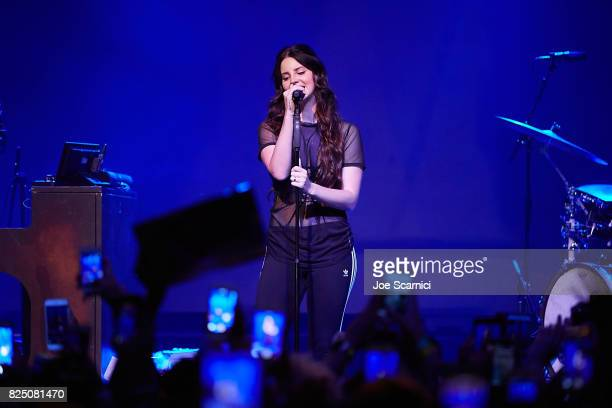 Lana Del Rey performs at House of Blues San Diego on July 31 2017 in San Diego California