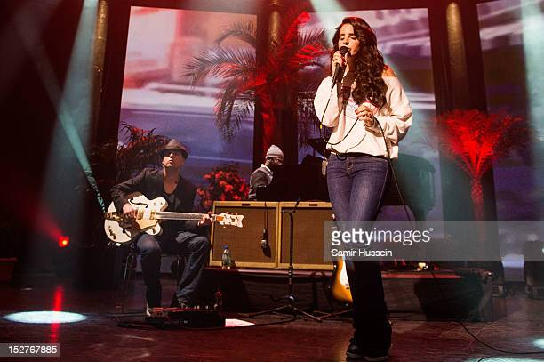 Lana Del Rey performs at the Roundhouse as part of the iTunes Festival on September 25 in London England
