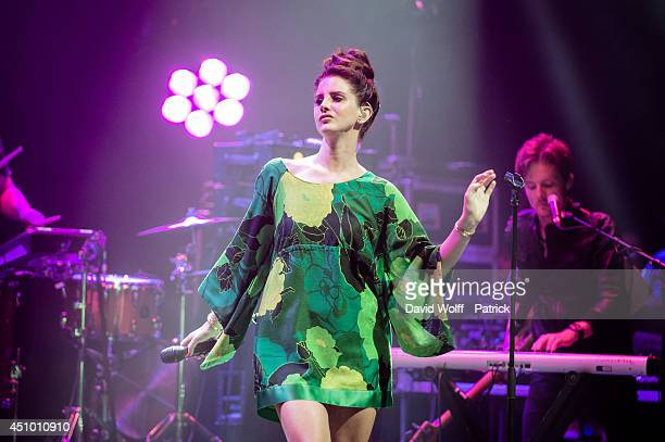 Lana Del Rey performs during La Fete De La Musique at L'Olympia at L'Olympia on June 21 2014 in Paris France