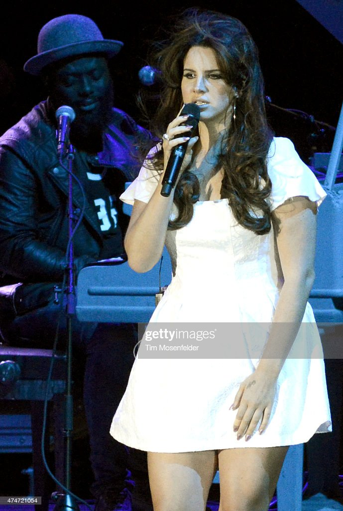 Lana Del Rey performs during the 2015 Sasquatch Music Festival at The Gorge on May 24 2015 in George Washington