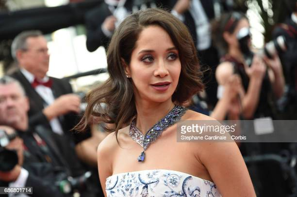 Lana El Sahely attends 'The Killing Of A Sacred Deer' premiere during the 70th annual Cannes Film Festival at Palais des Festivals on May 22 2017 in...
