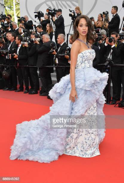 Lana El Sahely attends 'The Killing Of A Sacred Deer' screening during the 70th annual Cannes Film Festival at Palais des Festivals on May 22 2017 in...