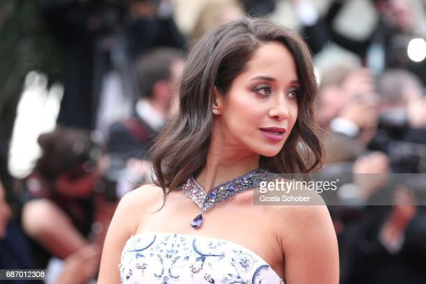 Lana El Sahely attends the 'The Killing Of A Sacred Deer' screening during the 70th annual Cannes Film Festival at Palais des Festivals on May 22...