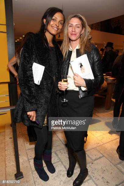 Lana Ogilvie and Lenore Mahoney attend Anthropologie Hosts US Book Launch of BLOW BY BLOW at Anthropologie at Rockefeller Center on November 3 2010...