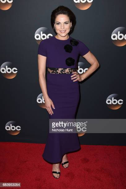 Lana Parrilla attends the 2017 ABC Upfront on May 16 2017 in New York City