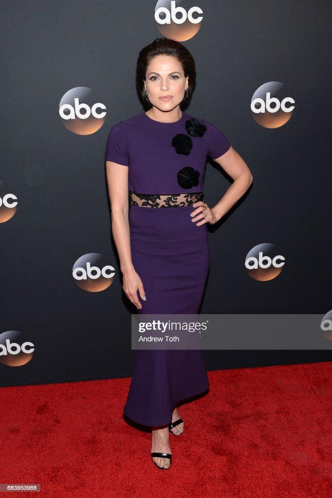 Lana Parrilla attends the 2017 ABC Upfront on May 16, 2017 in New York City.