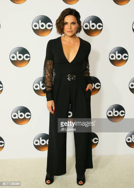 Lana Parrilla attends the 2017 Summer TCA Tour 'Disney ABC Television Group' on August 06 2017 in Los Angeles California