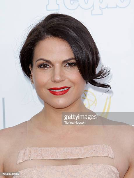Lana Parrilla attends the 37th College Television Awards at Skirball Cultural Center on May 25 2016 in Los Angeles California