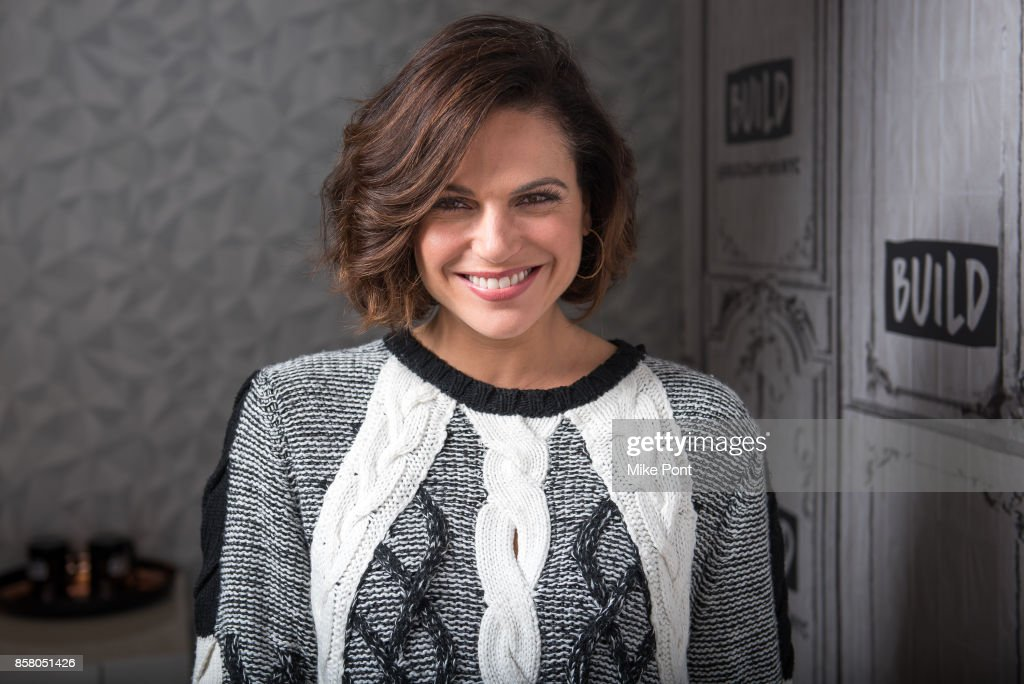Lana Parrilla visits Build Studio to discuss 'Once Upon A Time' at Build Studio on October 5, 2017 in New York City.