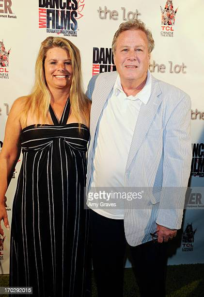 Lana Pritchard and John Heard attend the 'She Loves Me Not' World Premiere at TCL Chinese Theatre on June 9 2013 in Hollywood California