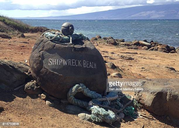 Lanai's Shipwreck Beach offers interesting sights and hiking trails including one that leads to ancient petroglyphs