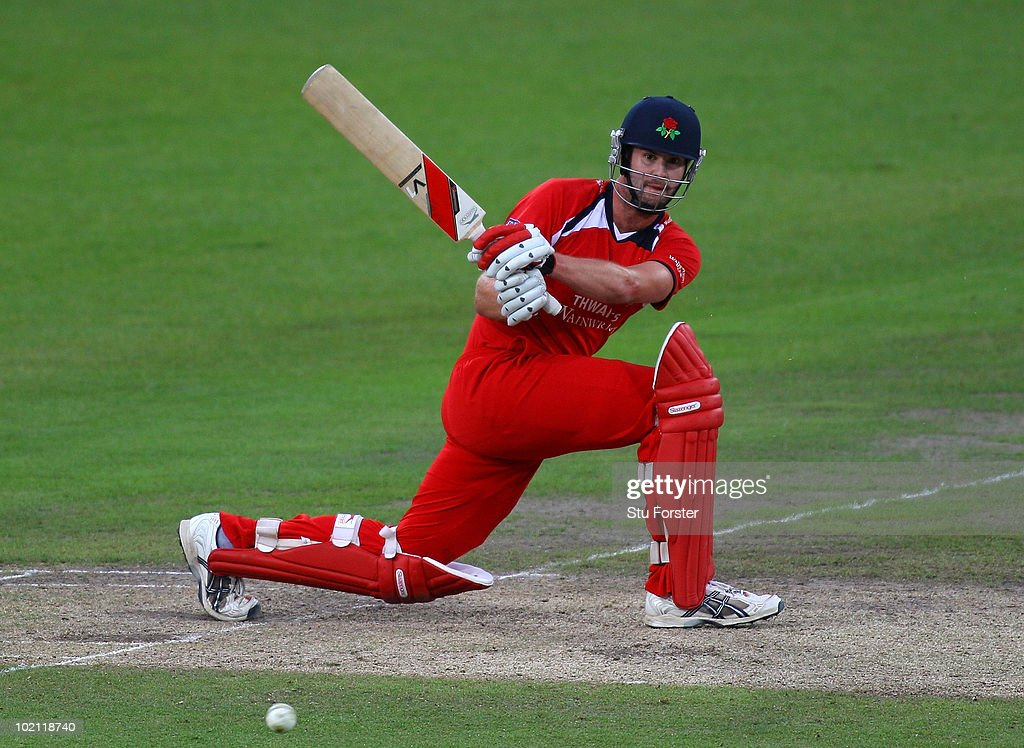 Lancashire batsman Tom Smith in action during the Friends Provident T20 match between Nottinghamshire and Lancashire at Trent Bridge on June 15, 2010 in Nottingham, England.